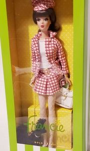 New Silestone Barbie Gold Label Mattel Francie